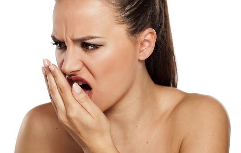 a rossz lehelet epehólyagot okoz