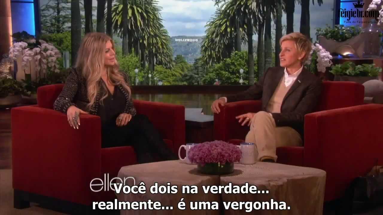Fergie interview ellen. Ellen degeneres fergie, Bejegyzés navigáció