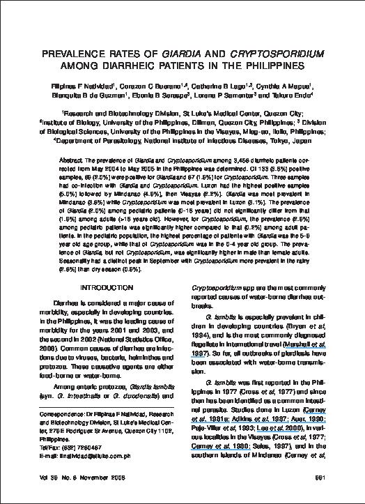 Giardia japan - Tartalomjegyzék