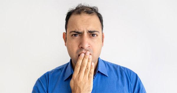 fémes szag a szájból